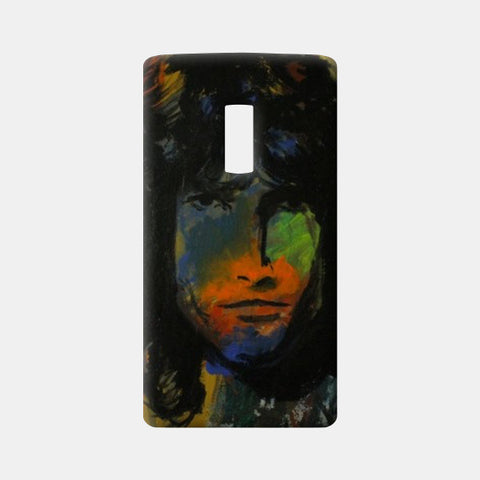 JIM MORRISON One Plus Two Cases | Artist : Rohan Jayant