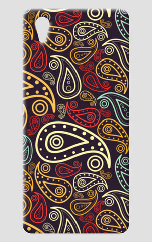 Abstract hand drawn floral illustration on multicolors One Plus X Cases | Artist : Designerchennai