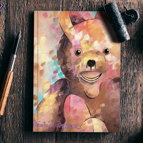 Teddy bear Notebook | Artist : Béatrice BEDEUR
