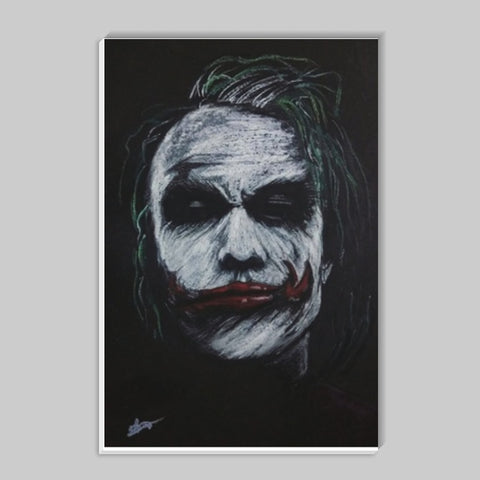 The Joker Heath Ledger Stick Ons | Artist : Vivek Aind