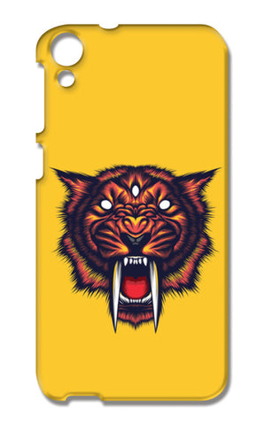 Saber Tooth HTC Desire 820 Cases | Artist : Inderpreet Singh