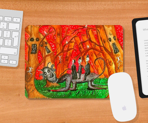 Mousepad, In The Same Boat Mousepad | Artist : Ramkumar Iyer, - PosterGully