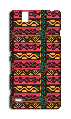 Abstract geometric pattern african style Sony Xperia C4 Cases | Artist : Designerchennai