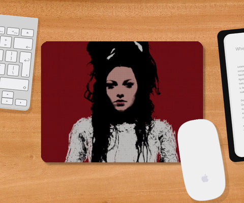 Mousepad, Goth Amy Lee Mousepad | Artist: Rohit Sharma, - PosterGully