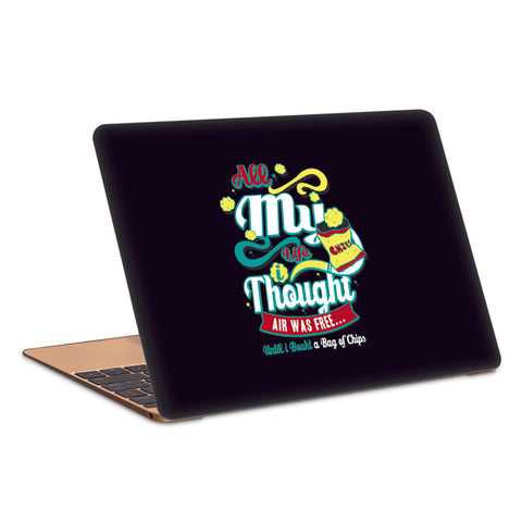Chips Laptop Skin