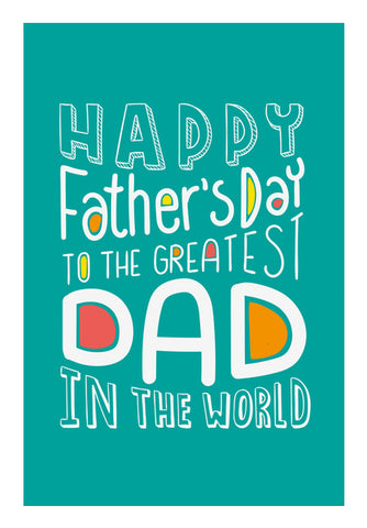 Happy Father's Day Word Art | #Father's Day Special   Wall Art | Artist : Creative DJ