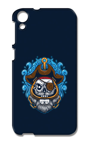 Skull Cartoon Pirate HTC Desire 820 Cases | Artist : Inderpreet Singh