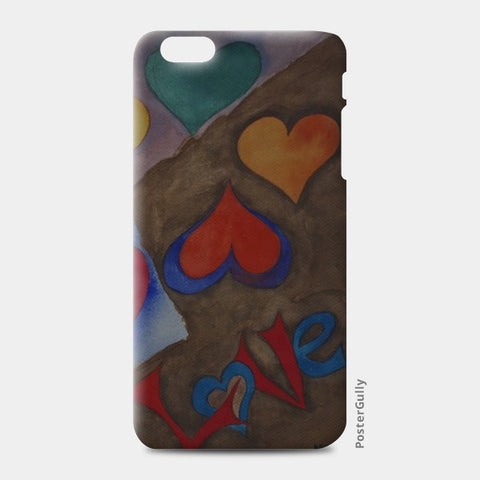 iPhone 6/6S Plus Cases, Love is Here iPhone 6 Plus/6S Plus Cases | Artist : Aakriti, - PosterGully