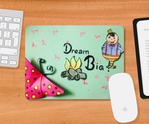 Mousepad, Dream big Mousepad | Doodleicious, - PosterGully