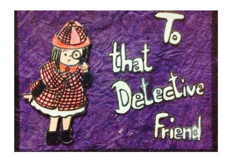 Wall Art, Detective friend Wall Art | Doodleicious, - PosterGully