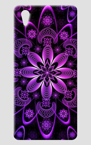 Purple Mandala One Plus X Cases | Artist : Madhumita Mukherjee