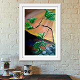Beauty of Nature Painting Premium Italian Wooden Frames | Artist : Pallavi Rawal