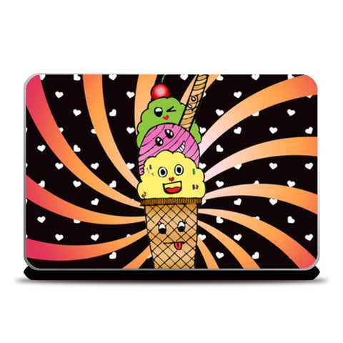 Ice Cream Laptop Skins | Artist : Design_Dazzlers