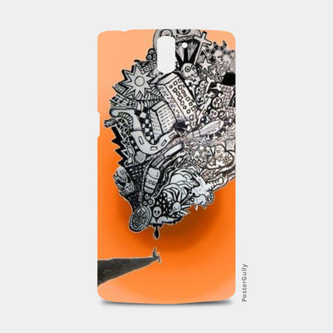 One Plus One Cases, Cliff Thoughts One Plus One Cases | Artist : Deepa Mehra, - PosterGully