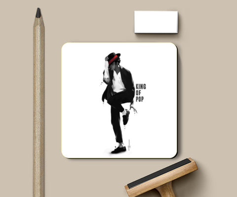 Coasters, michael jackson | king of pop Coasters | Artist : dooo, - PosterGully