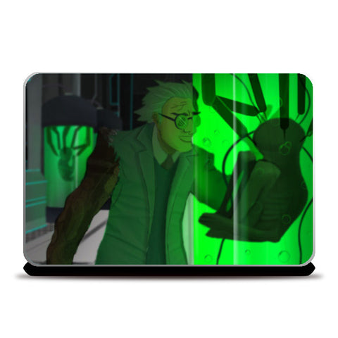 Laptop Skins, mad scientist Laptop Skins | Artist : Jayant Rana, - PosterGully