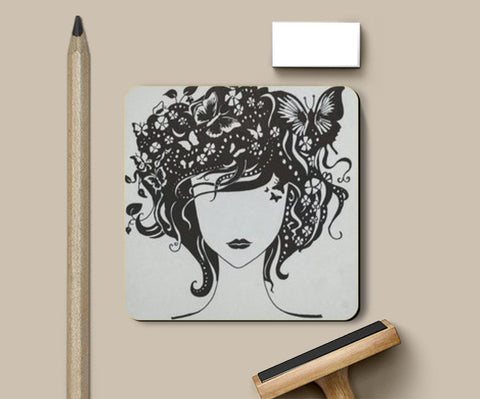 Coasters, The beautiful mind Coasters | Artist : Sampriti Mukherjee, - PosterGully