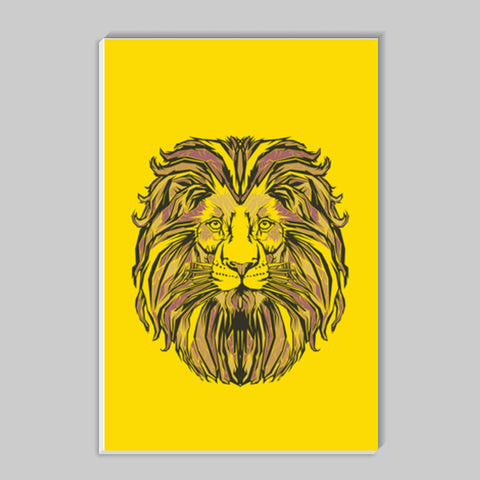 Lion Pop Art  Stick Ons | Artist : Inderpreet Singh