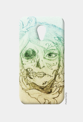 Moto G2 Cases, psychedelic two face Moto G2 Case | Artist: Vikrant Khirwar, - PosterGully