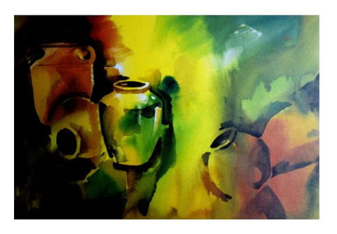PosterGully Specials, Still Life Painting Wall Art  | Artist : Rahul Tanwar, - PosterGully