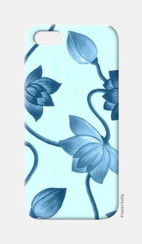 Blue Lotus iPhone 5 Cases | Artist : Signature collection