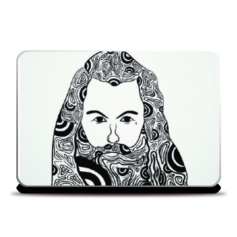 Laptop Skins, Lumbersexual Laptop skin | Raul Miranda, - PosterGully