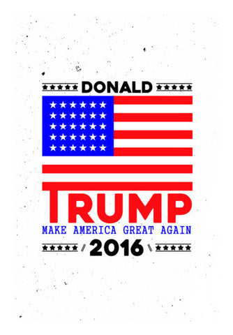 Donald Trump For President American Wall Art | Artist : Designerchennai