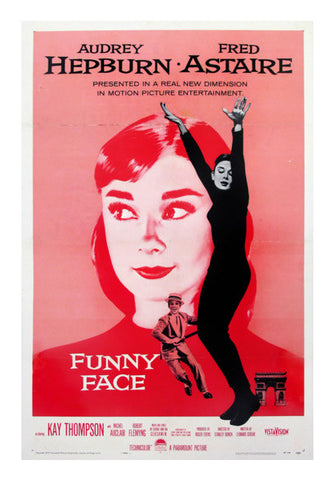 Funny Face Audrey  Wall Art | Artist : Scatterred Partikles