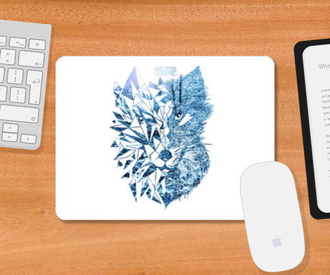 Game Of Thrones | Wolf Mousepad | Artist : Pragya Bhandari