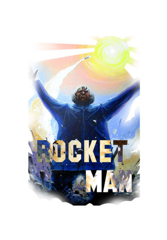 Wall Art, India's Rocket Man Wall Art | Artist : Smeet Gusani, - PosterGully