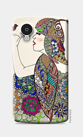 Girl Nexus 5 Cases | Artist : Prasun Balasubramaniam