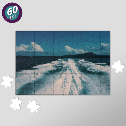 Sea Waves Jigsaw Puzzles | Artist : nandita sharma