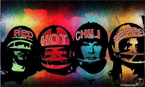 Wall Art, Red Hot Chili Pepper Artwork | Artist: Devraj Baruah, - PosterGully - 1