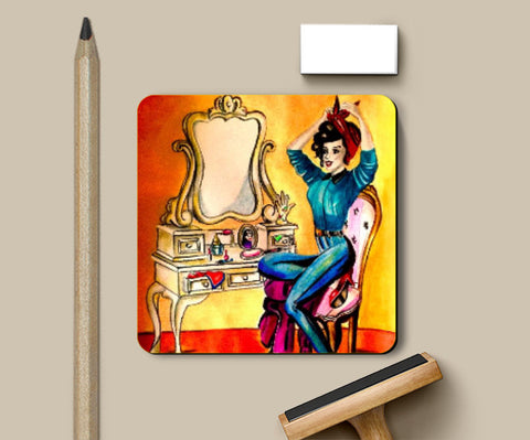 Coasters, Girly Coaster | Pritika Uppal, - PosterGully