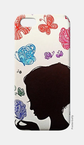 Girl iPhone 5 Cases | Artist : Prasun Balasubramaniam