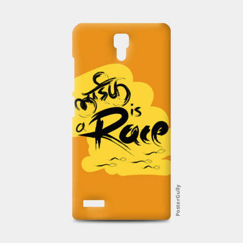 Redmi Note Cases, life is a race Redmi Note Cases | Artist : desiGuy, - PosterGully