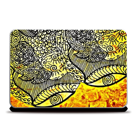 Laptop Skins, Eyes Zenscrawl Laptop Skins | Artist : Meghnanimous, - PosterGully