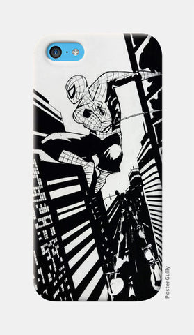Spiderman iPhone 5c Cases | Artist : Aastha Pruthi