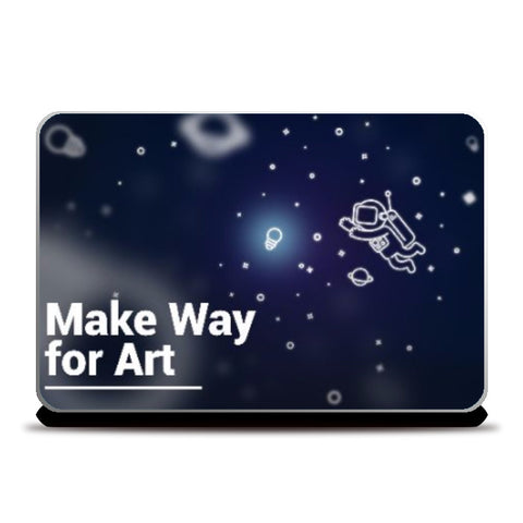 Laptop Skins, Make Way for Art Laptop Skin | Artist : Aditya Golechha, - PosterGully