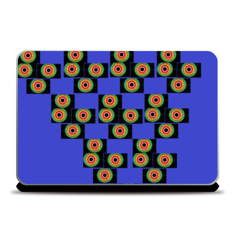 Pyramid of Eyes Laptop Skins | Artist : Papo Mukherjee