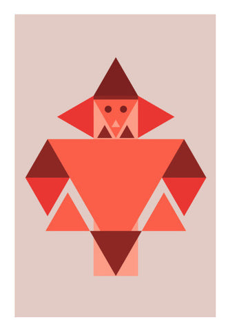 Geometric Triangle Art Art PosterGully Specials