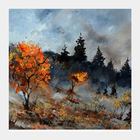 Square Art Prints, Sad day 76 Square Art Prints | Artist : pol ledent, - PosterGully