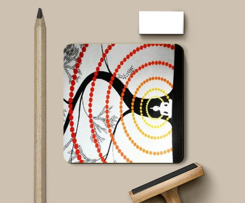 Waves of Peace Coasters | Artist : Chandramouli Sivanandham