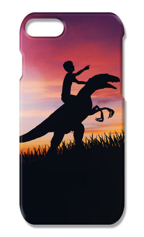 BOY WITH DINO iPhone 7 Plus Cases | Artist : Ayush Yaduvanshi