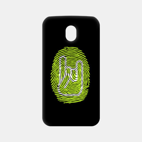 Thumping Rock Green Moto G3 Cases | Artist : Ved Uttam