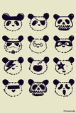 Brand New Designs, The Most Disguised Panda - Cream | By Captain Kyso, - PosterGully - 1