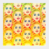 Marilyn Monroe Square Art Prints | Artist : Design_Dazzlers