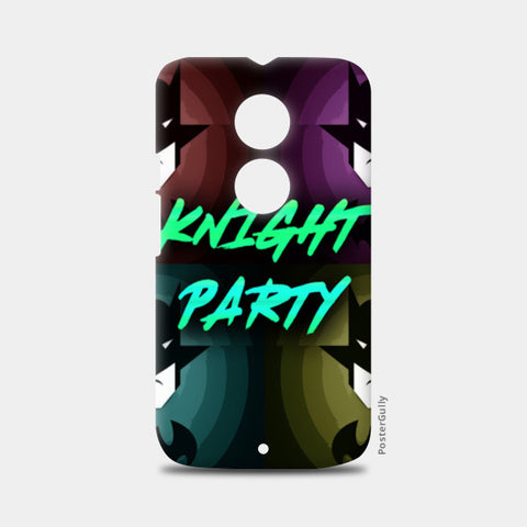 Moto X2 Cases, Knight Party Moto X2 Cases | Artist : Jax D, - PosterGully