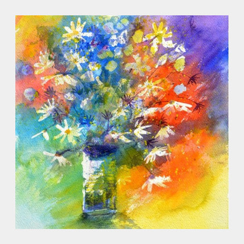 Square Art Prints, watercolor 518020 Square Art Prints | Artist : pol ledent, - PosterGully