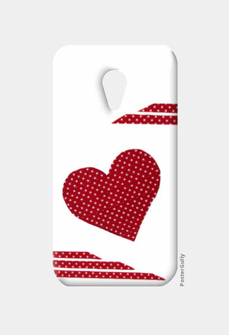 Moto G2 Cases, Dotted Heart Moto G2 Case I Artist: Seema Hooda, - PosterGully